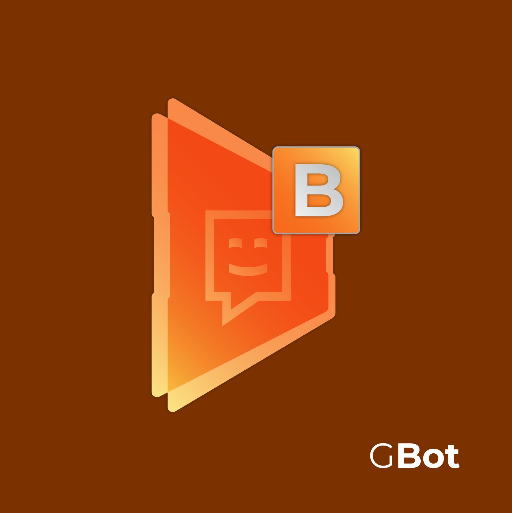 Logo GBot aplicação alternativa
