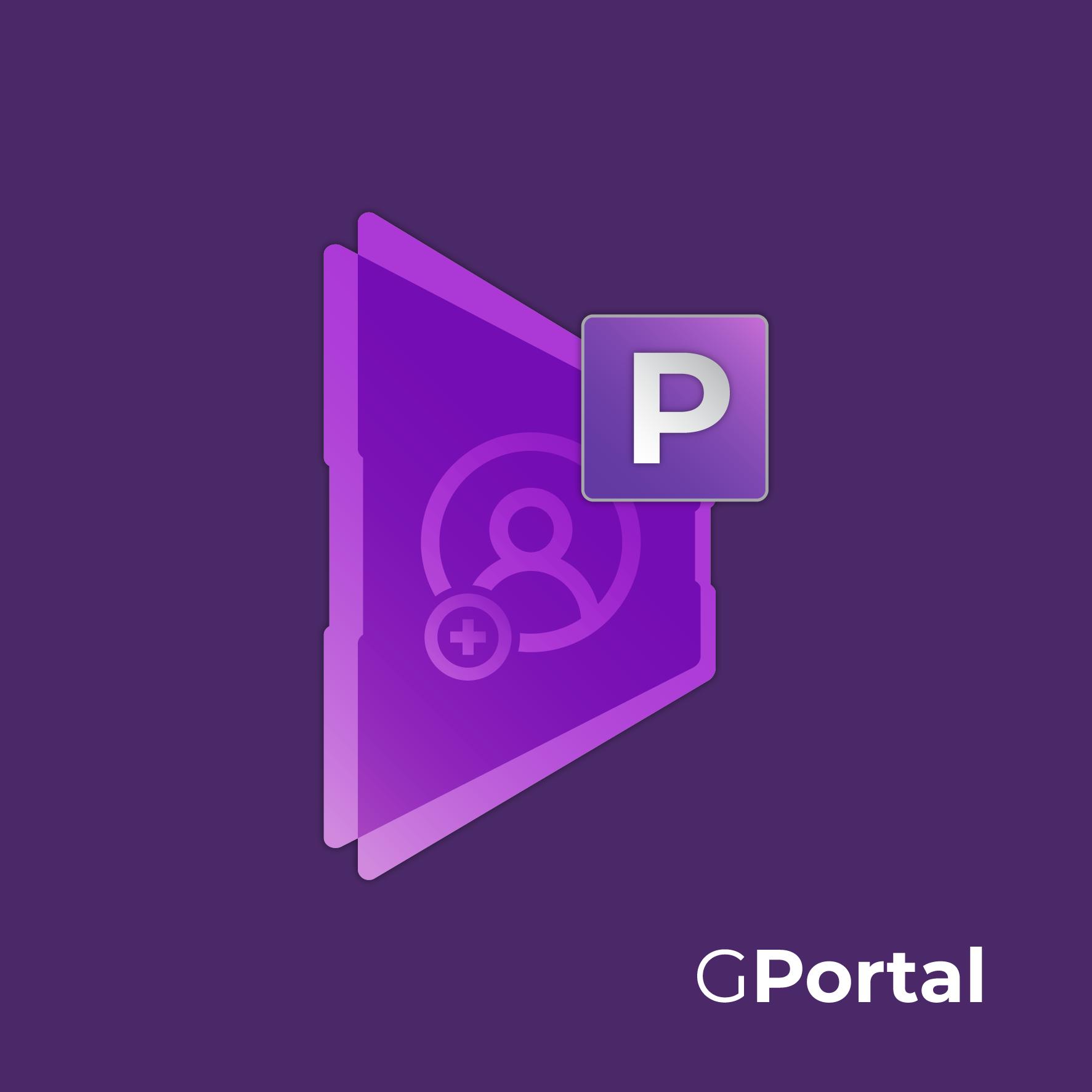 Logo GPortal aplicação alternativa