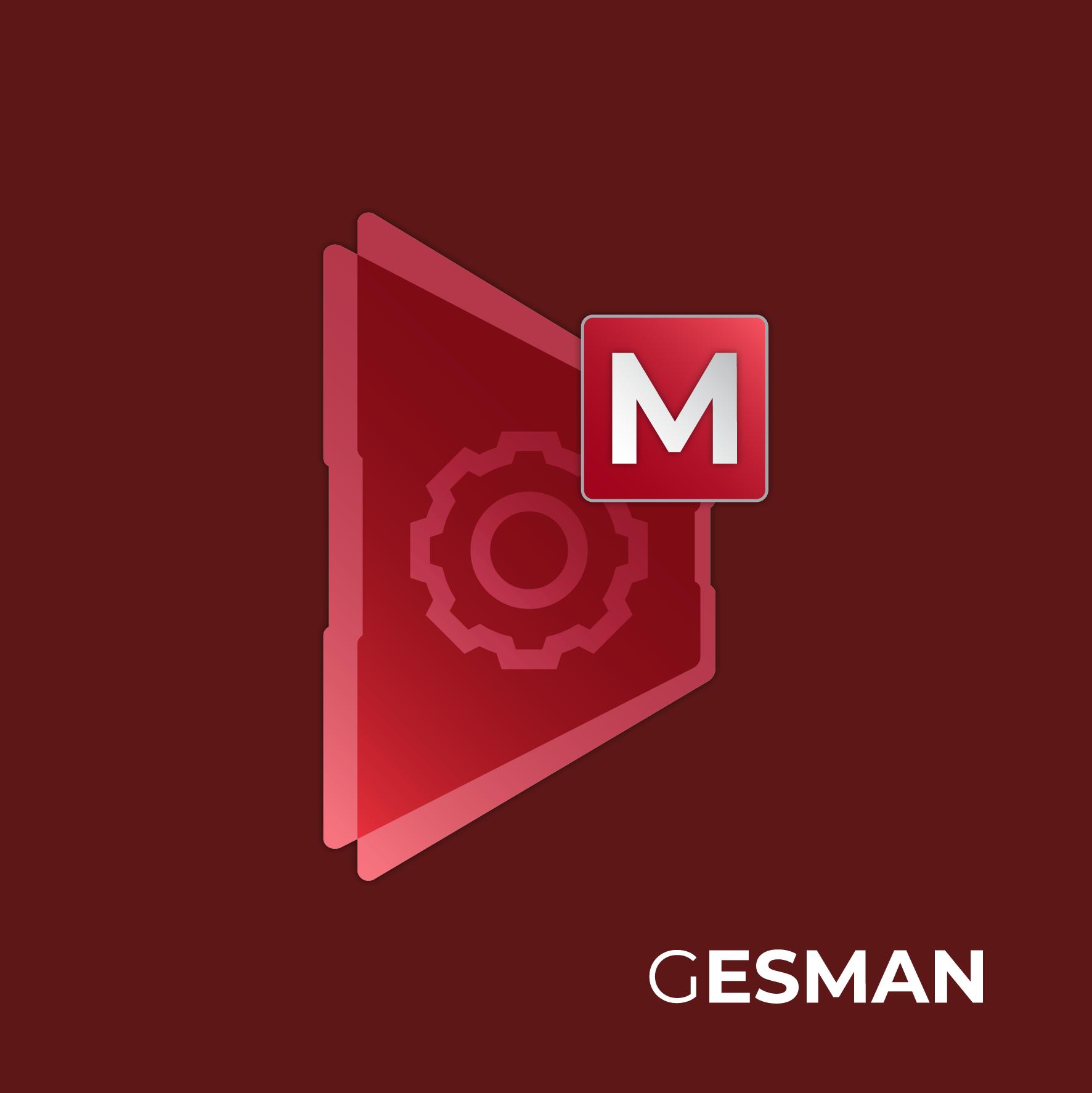 Logo Gesman aplicação alternativa